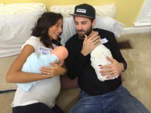 labor practice pregnant couple